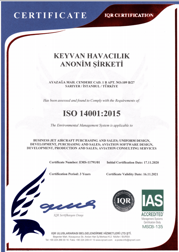 Keyvan ISO 14001